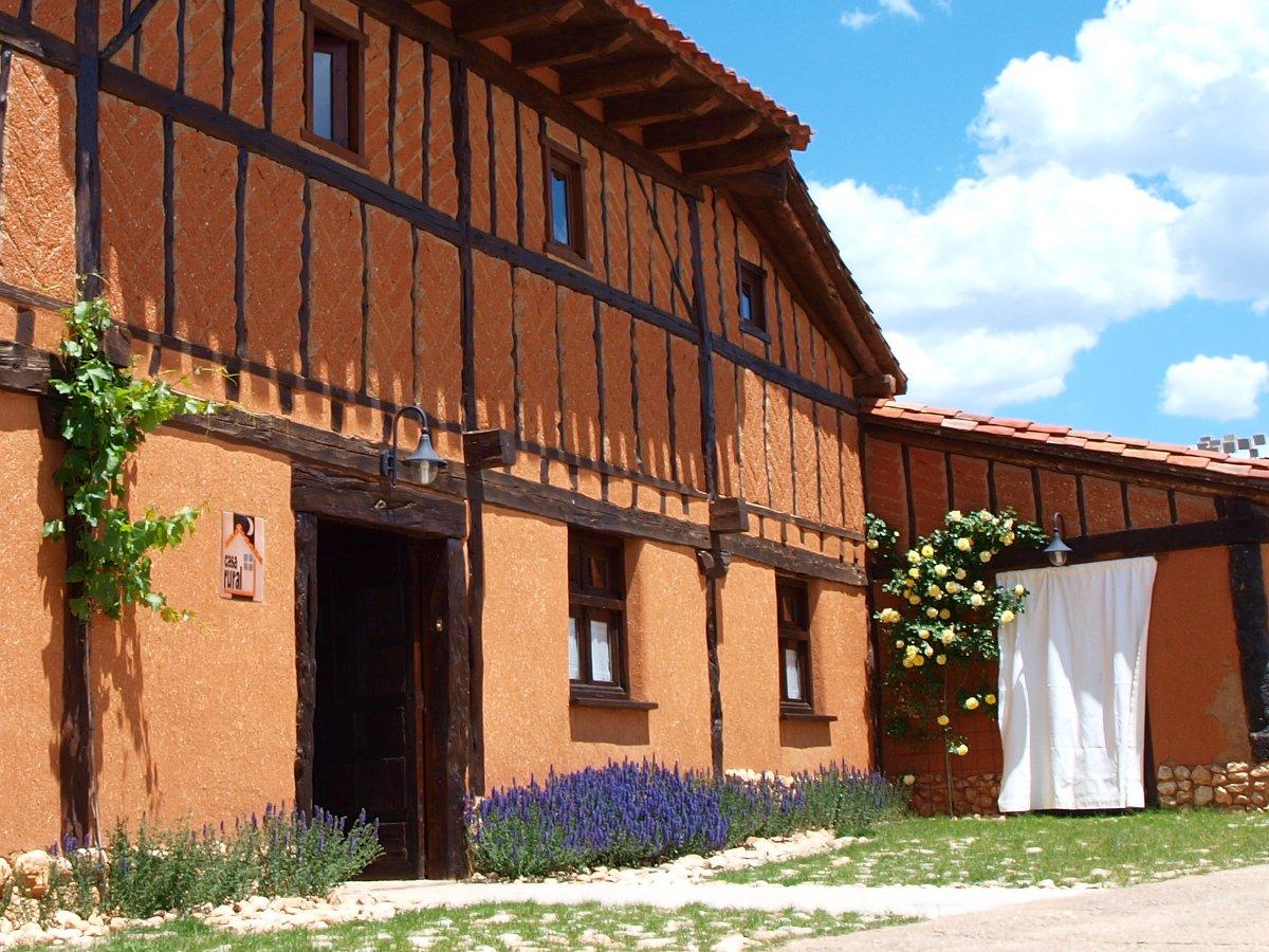 La casa de adobe hotel rural ca n del r o lobos soria - Fuerteventura hoteles con encanto ...